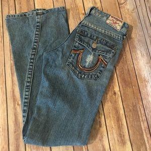 True Religion Woodstock Jeans size 27 34